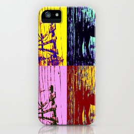 Horse in the shadows iPhone Case