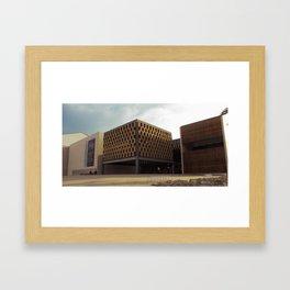 Palau de Congressos Framed Art Print