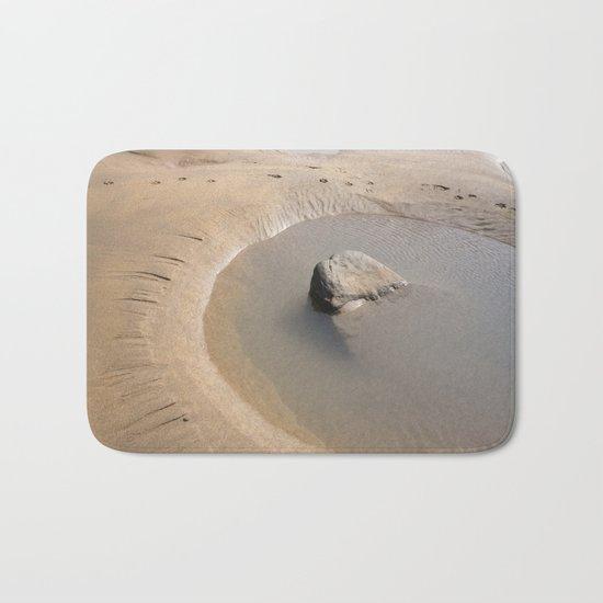 TIDAL POOL CORNWALL BEACH Bath Mat