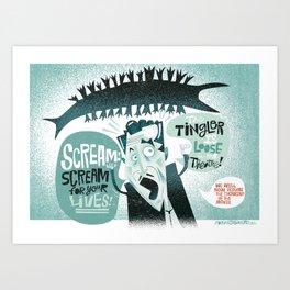 The Tingler! Art Print