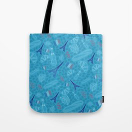 French pattern, bright version Tote Bag