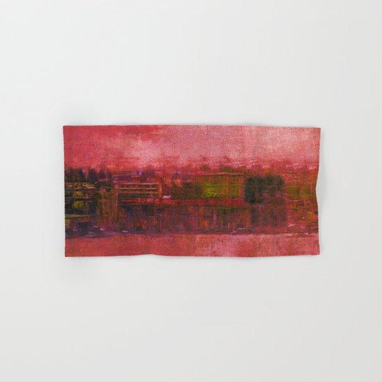 Purple Sunset Hand & Bath Towel