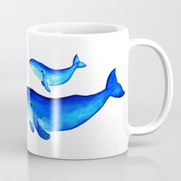 Blue whales Coffee Mug