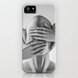 Speak no evil iPhone Case