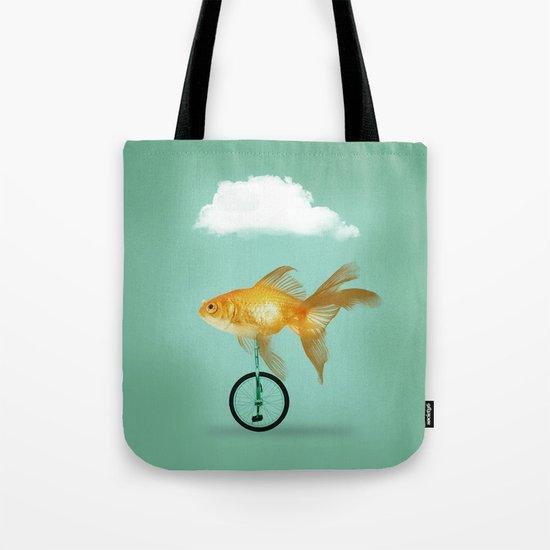 unicyle goldfish III Tote Bag