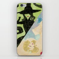 wicked iPhone & iPod Skins featuring Wicked by Serena Rocca
