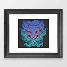 Octosphinx Framed Art Print