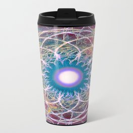 The Stillness at the Centre of the Maelstrom - The Bright Side Travel Mug