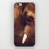 strong iPhone & iPod Skins featuring Strong by DONIKA NIKOVA - Art & Design