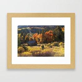 Autumn Smoke Framed Art Print