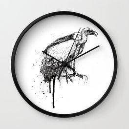 Birds/Gyps Fulvus Wall Clock