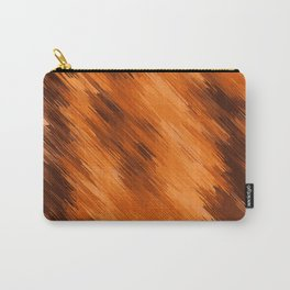 brown orange and dark brown painting texture abstract background Carry-All Pouch