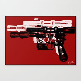 Blaster II Canvas Print