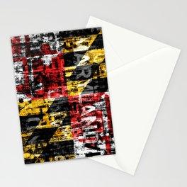 Maryland Flag Print Stationery Cards