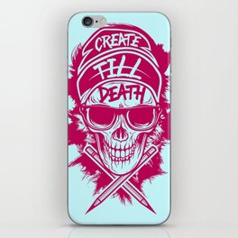 Create Till Death iPhone Skin