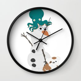 Olaf & Pals Wall Clock