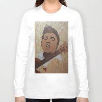 elvis presley Long Sleeve T-shirts featuring Elvis Presley  by Andulino