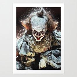 Pennywise - Clown Art Print