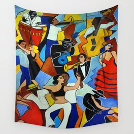 SALSA SAUVAGE Wall Tapestry