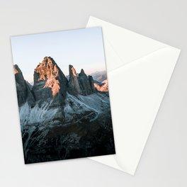 Dolomites sunset panorama - Landscape Photography Stationery Cards