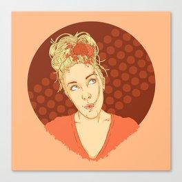 Spaghettihead Canvas Print