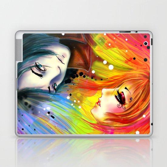 RAINBOW AND NIGHT Laptop & iPad Skin