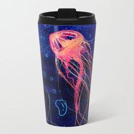 Electric Jellyfish Metal Travel Mug