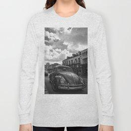 Vintage Beetle on Decatur Long Sleeve T-shirt
