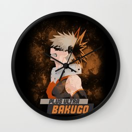 Bakugo Wall Clock