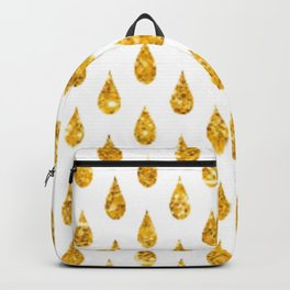 gold raindrops Backpack