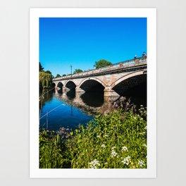 Hyde Park Bridge // London, UK Art Print
