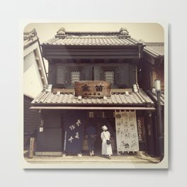 Kawagoe Japan Metal Print