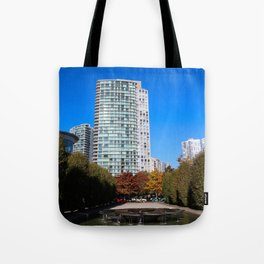 trees to breathe in the city Tote Bag