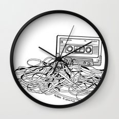 Relax & Unwind on white Wall Clock