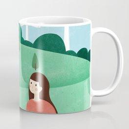 Friends Picnic Draw Coffee Mug