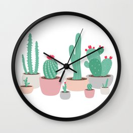 Desert Dreams Wall Clock