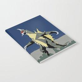 Godzilla vs Gigan Notebook