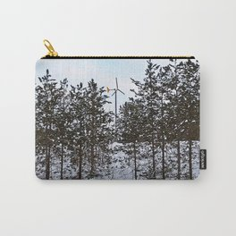 Windmill Through the Trees Carry-All Pouch