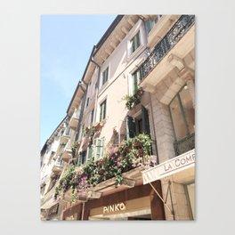 Italy Shopfront Canvas Print