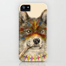 Cherokee Wolf iPhone (5, 5s) Slim Case