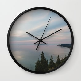 View from the Bluff Wall Clock