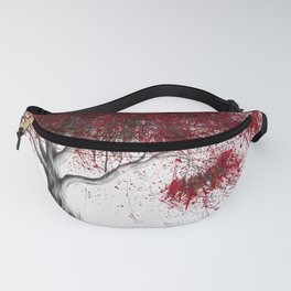 Scarlet Picnic Dream Tree Fanny Pack