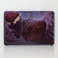 carnage iPad Cases featuring Carnage by MATT DEMINO