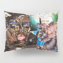 African Queen - Magazine Collage Pillow Sham