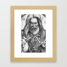 Father Time by Kate Morgan Framed Art Print