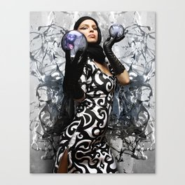 HVH Liquid  Canvas Print