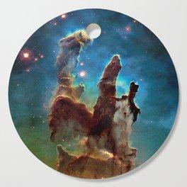 Eagle Nebula's Pillars Cutting Board
