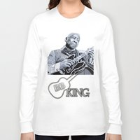 jazz Long Sleeve T-shirts featuring Jazz by ink0023