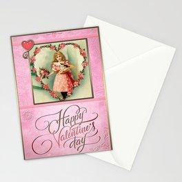 Valentine's Day Vintage Card 006 Stationery Cards