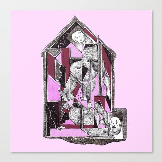house 3 Canvas Print